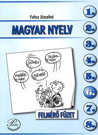Magyar nyelv 6. felmérő füzet