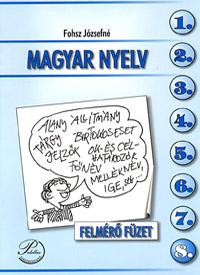 Magyar nyelv 8. felmérő füzet