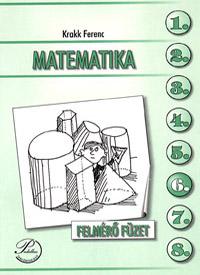 Matematika 6. felmérő füzet
