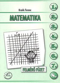 Matematika 8. felmérő füzet