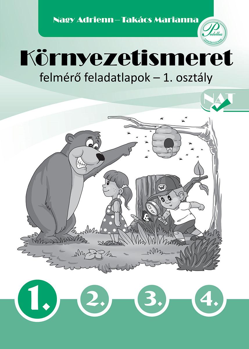 Környezetismeret felmérő feladatlapok 1. osztály